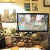 Getting Rid Of Cord Clutter: Easy As A Pile Of Rocks!