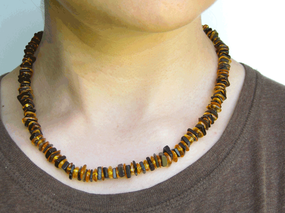 forest mens baltic necklace authentic arts