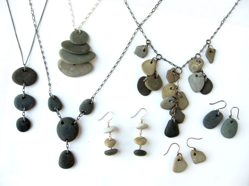 Beach stone jewelry to keep you grounded in wonder, even when you're ...