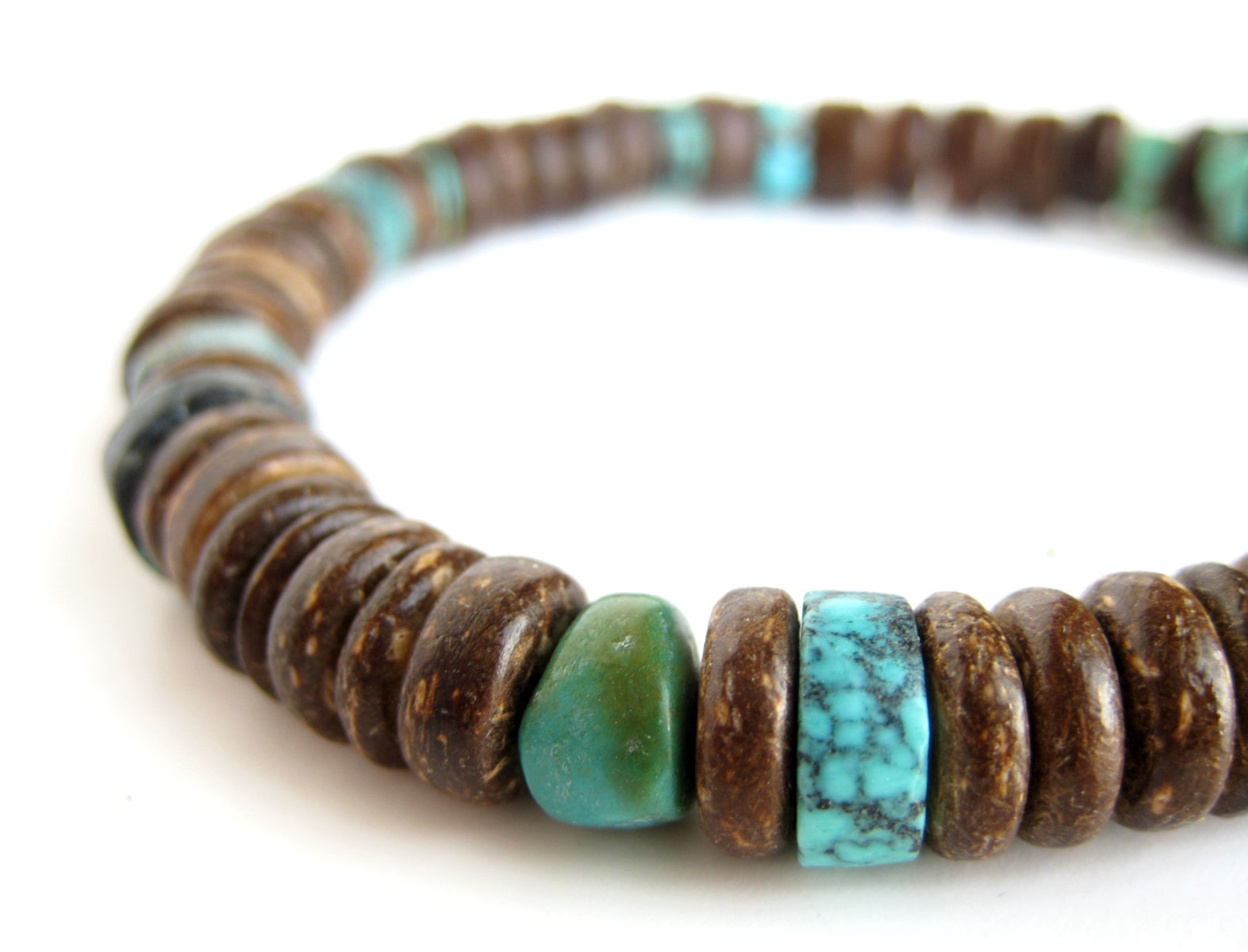 Tribal Turquoise Bracelet For Outdoorsy Men By Jenny Hoople Of Authentic  Arts