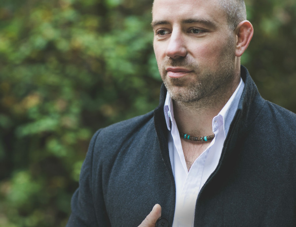 Rugged, handmade mens jewelry by Jenny Hoople of Authentic Arts