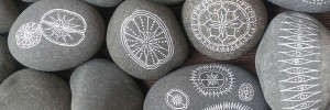 Free stone meditation printables