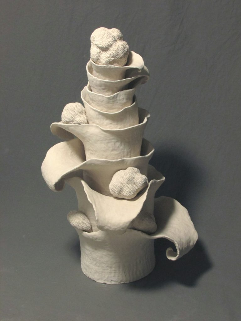 Ceramic sculpture by Jenny Hoople of Authentic Arts