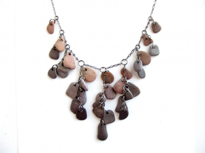 Falling Rocks Necklace